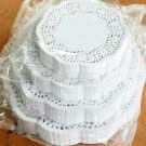 """100ct Desert Plate Size 5 1/2"""" White Lace Paper Doilies"""
