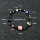 9 Planet Solar System Stretch Bracelet