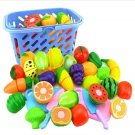 38 Children's Fruit Play Set Fosters Imagination ( Basket NOT Included )