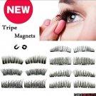Style 4 Triple 3D Magnetic  False Eyelashes 2 Pair