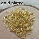 500ct. 4mm Gold Plated Open Jump Rings