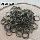 500ct. 4mm Bronze Plated Open Jump Rings