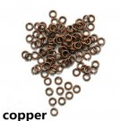 100ct. 12mm Copper Plated Open Jump Rings