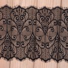 Black African Lace 7.87 Inches X 9.80 Feet