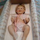 Ashton Drake Barely Your's Cute as a Button Porcelian Doll w/ original box