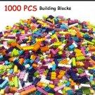 1000pcs Plastic Self-Locking Building Blocks Ages 6 & Up