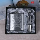 Jack Daniels  Portable Stainless Steel 7oz Flask Makes A Great Gift
