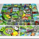 "Toy Car City Map Pretend Play  9"" x 13"""