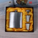 Blank Portable Stainless Steel 7oz Flask  Makes A Great Gift