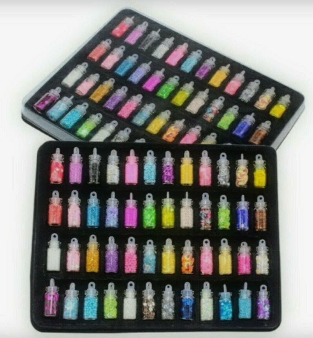 48pc Nail Art Set Personal, Proffesional, Nail Salon