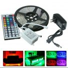 16ft LED RGB Color Changing Strip,  44 Key IR Remote & 12v DC (NOT WATERPROOF)