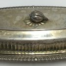 English Silver MFG Butter Dish 391 Lid  MADE IN USA Vintage made in USA