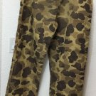 Vintage 70s Columbia Duck Camouflage Gore-Tex Pants Mens size Medium Camo