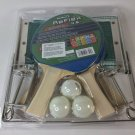NEW Halex Reflex 4.5 5 ply hardwood paddles 4 player with pip-Up net  ping pong