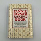 1984 The FANNIE FARMER Baking Book Marion Cunningham Hardcover Dustcover NICE
