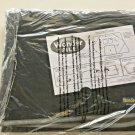 Wonderfile Portable Workstation Black Gray trim Office Files Folder Pen NEW