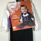 NWT Baby Vampire Halloween Costume Count Dracula Dress Fancy 18 - 24 months