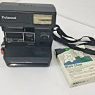 Polaroid 600 Camera Business Edition Instant Film NOT tested plus 1 film Vintage