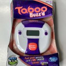 Taboo Buzz'd Buzzed Fast Pass Guessing Game Travel Party Hasbro 2013 New