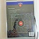 Link Depot Cooling Fan Ball Bearing PC Computer Case Metal 120x120x38mm AC 115V