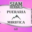 3 x 60 PILL PUERARIA MIRIFICA BREAST BUST ENLARGEMENT FEMALE ESTROGEN HORMONE