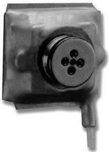 Button Hidden Camera/Black & White�HC-BTNCM-W Wired Camera (Requires Portable Recorder)