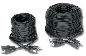 Power & Video All in One Camera Cables/� CA-25 25' Plug and Play Cable 12v