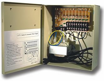 Multi-Power Supplies� MPS-12DC-16UL 16 Camera 12 Volt Power Supply