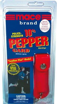 MACE 10% PEPPER GUARD:Leather Plus Model #80184