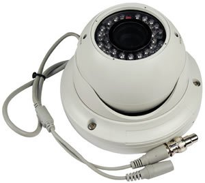 Color� DC-550WC-DN Vandal-Resistent IR Day/Night Color Dome Camera