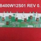 Sony KLV-40V530A Inverter board SSB400W12S01 REV0.1 Backlight board LTY400HA12
