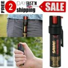 SABRE Pepper Spray Police With Clip Red Practice Canister Max Protection 35 shot