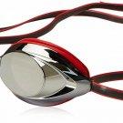 Speedo Vanquisher 2.0 Mirrored Swim Goggles, Panoramic, Anti-Glare, Anti-Fog Wit