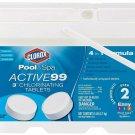 "Clorox Pool&Spa Active99 3"" Chlorinating Tablets 5 Lb"