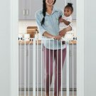 Regalo Easy Step Extra Tall Walk Thru Baby Gate, Includes 4-Inch Extension Kit,