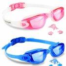 Eversport Swim Goggles, Pack Of 2 Swimming Goggles, Swim Glasses No Leaking Anti