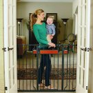 Regalo Home Accents Extra Tall And Wide Baby Gate, Bonus Kit, Includes Décor Ha