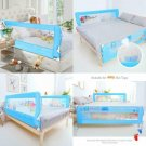 Odoland 70In Bed Rail Swing Down Safety Bed Rails Hide Away(Ha) Bedrail Assist E