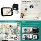 "Aurola Baby Monitor With 3.5"" Lcd Screen, Digital Camera, Infrared Night Vision,"