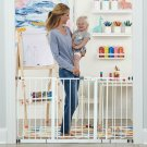 Regalo 56-Inch Extra Widespan Walk Through Baby Gate, Bonus Kit, Includes 4-Inch