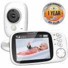 Video Baby Monitor Long Range - Upgraded 850' Wireless Range,  Night Vision, T