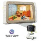 Baby Monitor Camera, Wide View, Split Screen, 5 Inches Large Screen by Moonybaby