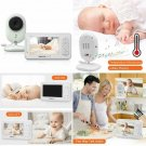 """Baby Monitor, Dragon Touch Dt40 4.3"""" Video Baby Monitor With Camera, Infrared"""
