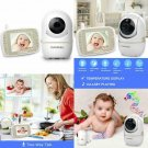Baby Monitor 2.4Hz Digital Wireless, Night Vision Lcd Screen Display,Two-Way Tal