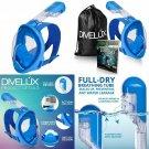 Divelux Full Face Snorkel Mask - Anti Fog  Anti Leak Technology | Seaview 180 °