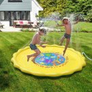 """Finduwill 68"""" Sprinkle And Splash Play Mat Pad Toy, Inflatable Outdoor Sprinkler"""