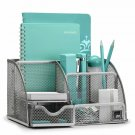 Mindspace Office Desk Organizer With 6 Compartments + Drawer + Pen  Pencil Hold