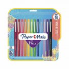 Paper Mate Flair Felt Tip Pens, Medium Point (0.7Mm), Assorted Colors, 12 Count