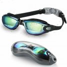 Letsfit Swim Goggles, No Leaking Anti-Fog Indoor Outdoor Swimming Goggles With U