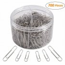 700 Paper Clips,Medium And Jumbo Size,Paperclips For Office School And Personal